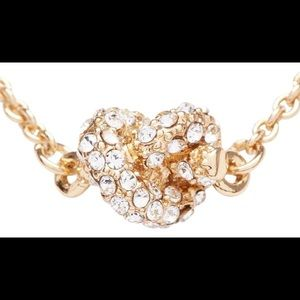 NWOT Kate Spade Pavè Crystal Knot Necklace ✨
